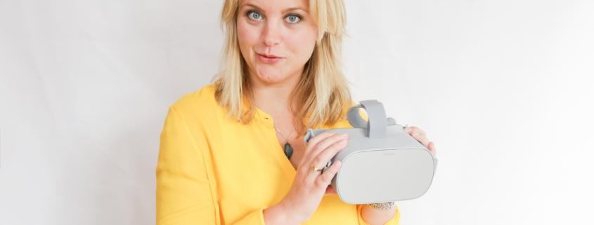 Virtual Reality, stralend presenteren, vr