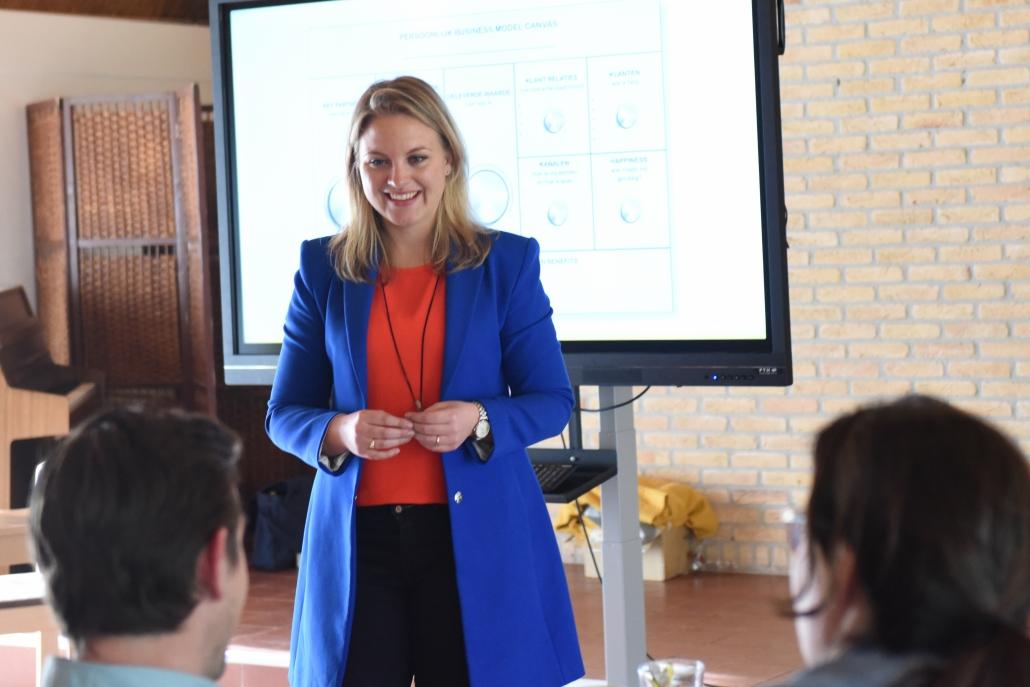 Marije Wielenga Stralend Presenteren